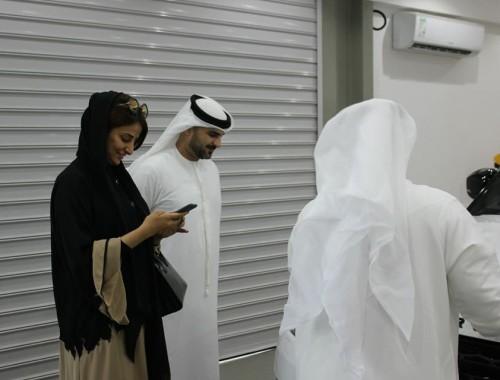 Famous UAE Actress Laila Almeqbali Visits VOne