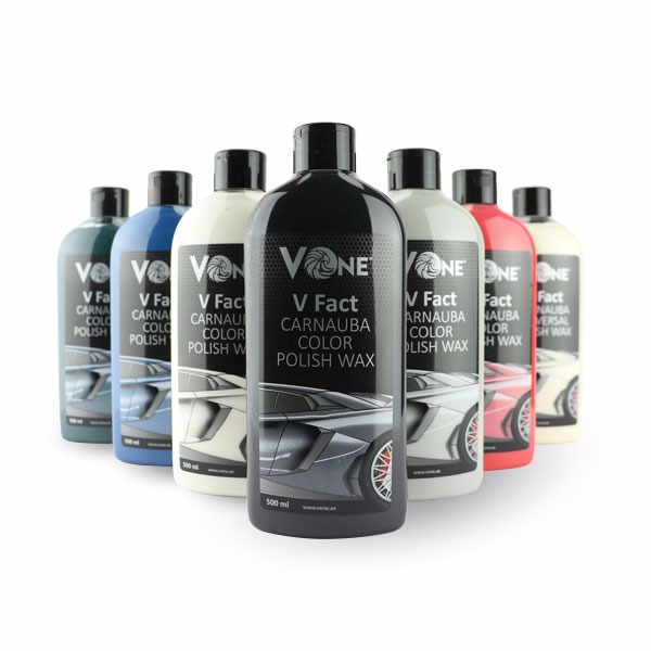 V Fact Carnauba Polish Wax 500ml